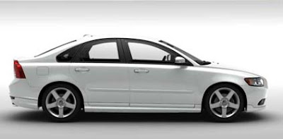 Volvo S40 Ice White