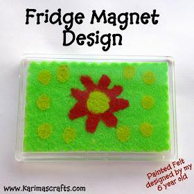 fridge magnet design tutorial