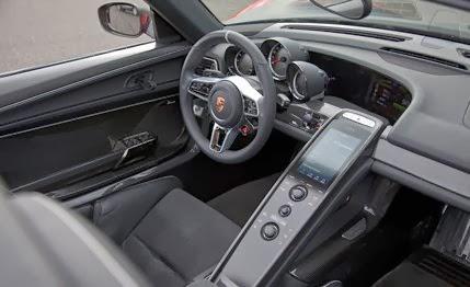 2015 porsche 918 spyder exterior and interior - Porsche 918 Exterior