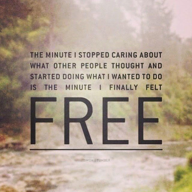quotes about being free