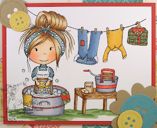 Heather's Hobbie Haven - Washboard Ellie Card Kit