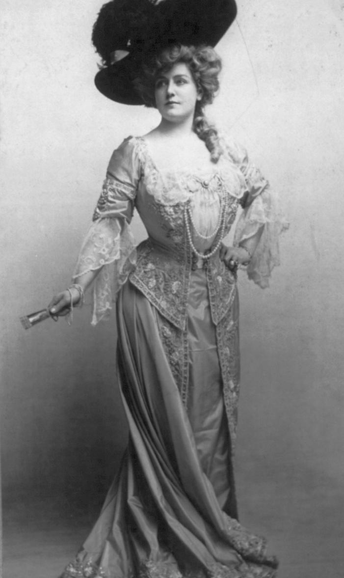 Das Schönheitsideal der Belle Époque I: Damen - Gaiety Girl