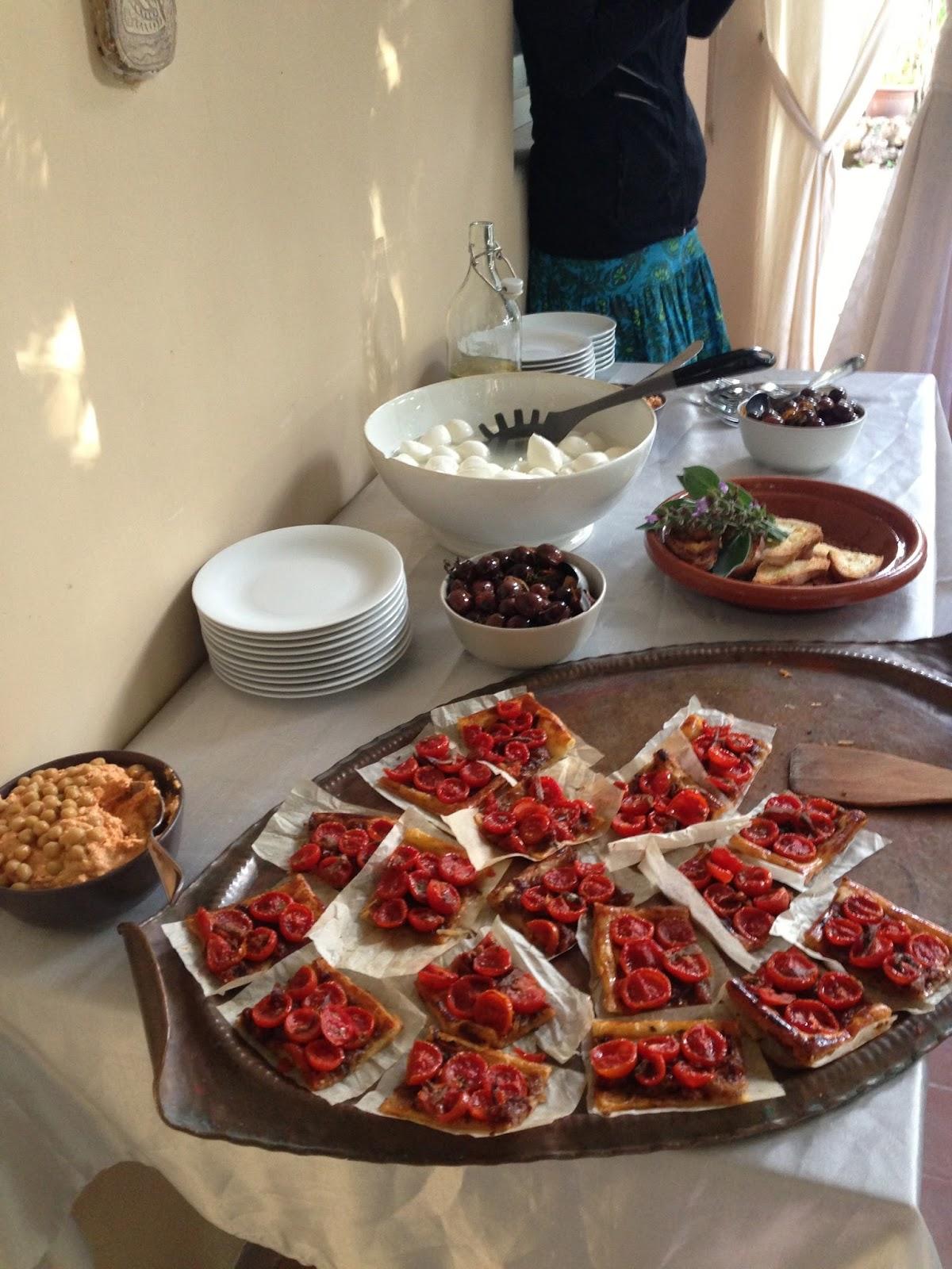 Catering romantico per un piccolo budget: Food Fairies a Villa Il ...