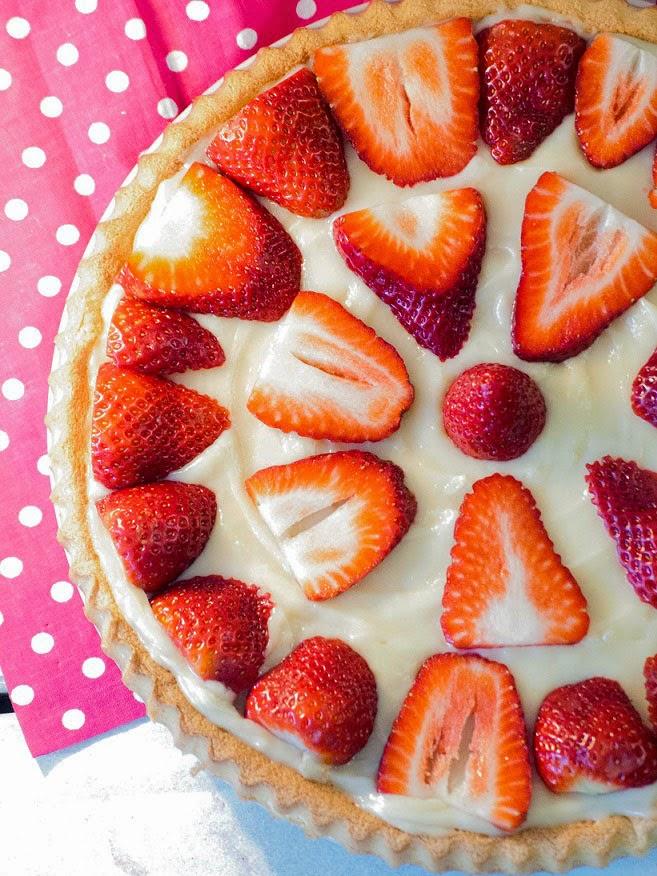 Tarte aux fraises, recette tarte aux fraises, meilleure tarte aux fraises, recette avec fraises