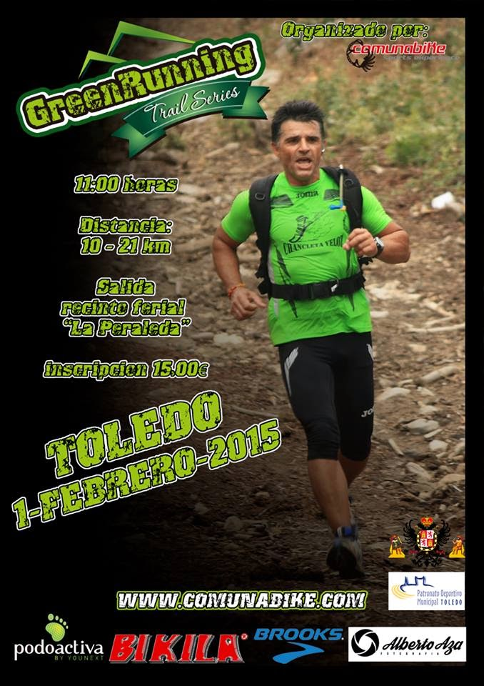 Trail Running 21 y 10 Km en Toledo