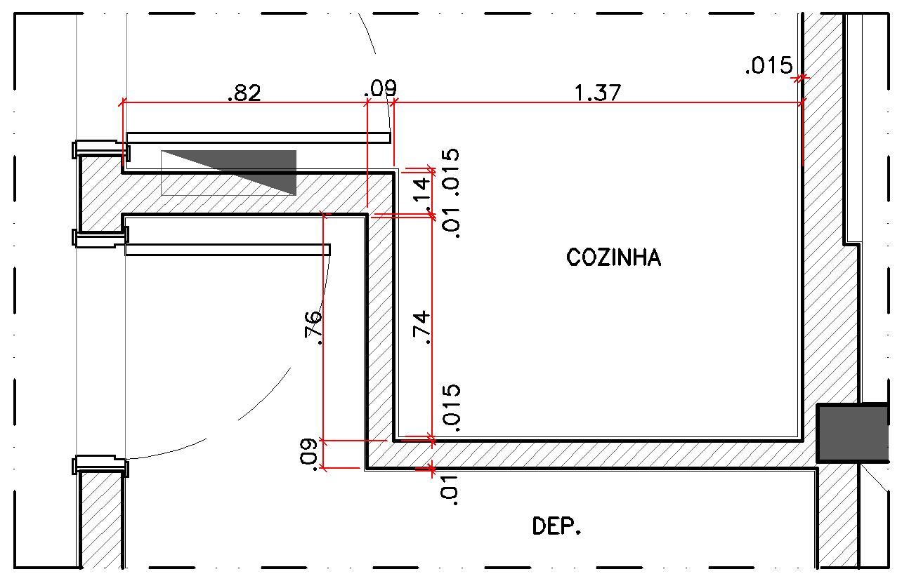 #474306 DecorCAD A8 Planta base modificando paredes e inserindo  1294x838 px Armario De Cozinha Em Dwg #2985 imagens