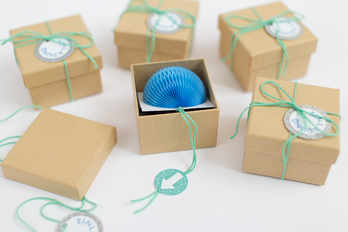 little town life  diy birthday invitations in a box