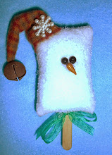 ICE CREAM BAR SNOWMAN - MULTI COLOR WOOL HAT