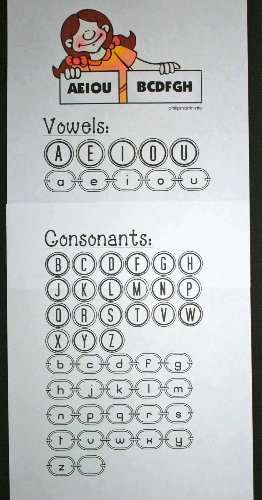 Vowels And Consonants Anchor Chart Classroom Freebies