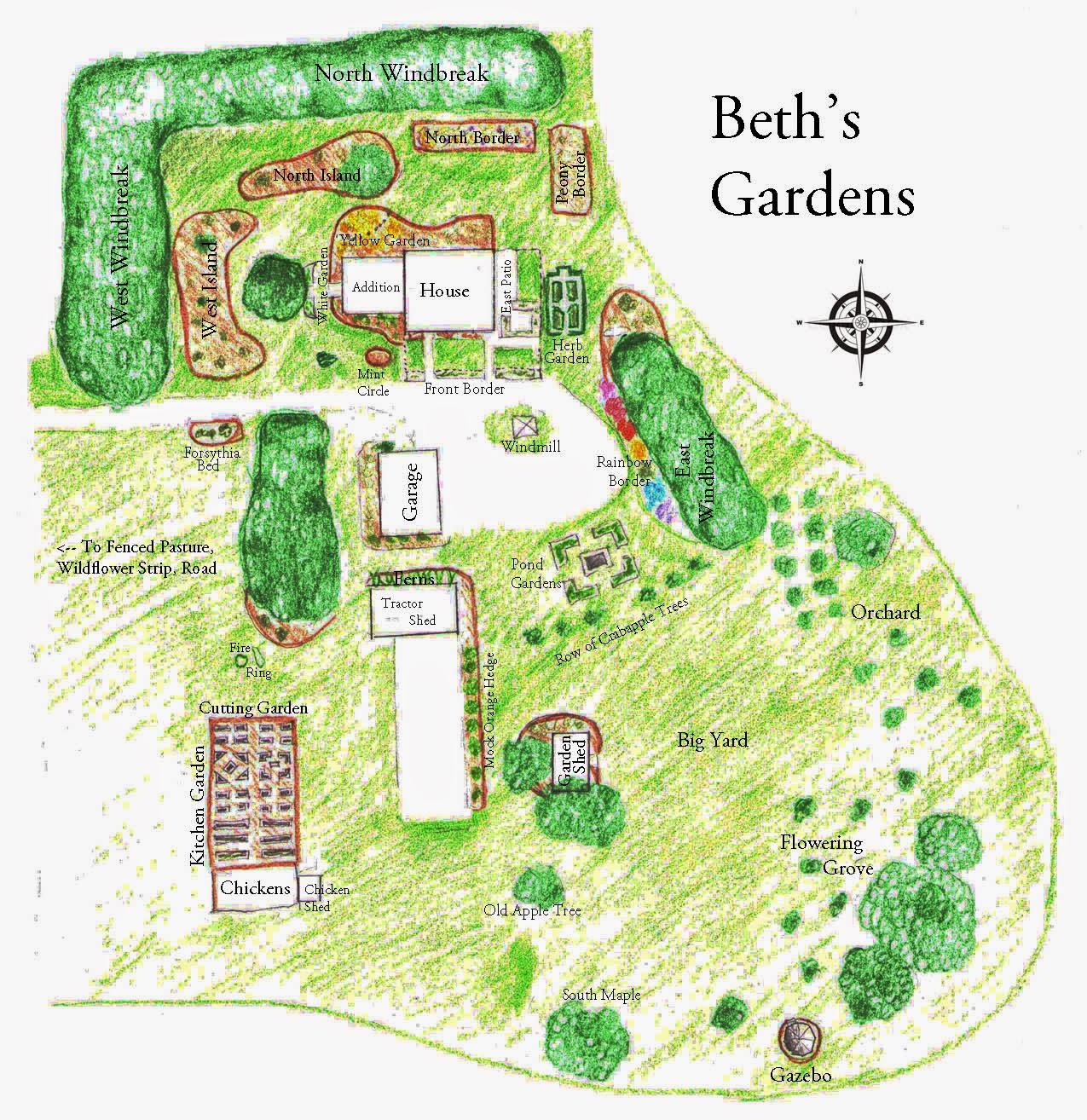 House Garden Map >> Garden Fancy My New Improved Garden Map
