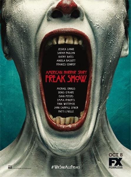 Segundo póster oficial de 'American Horror Story: Freak Show'