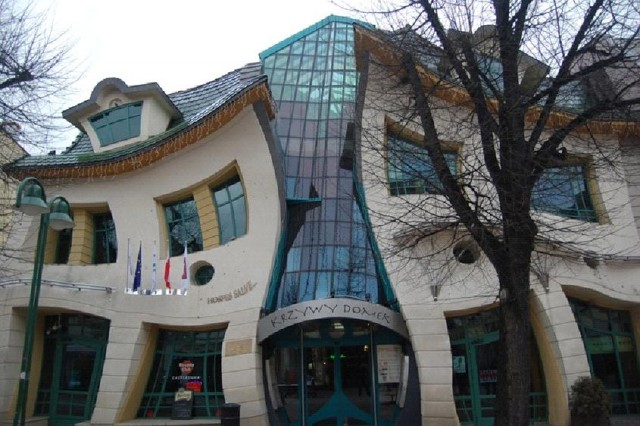 The Crooked House , Sopot, Poland