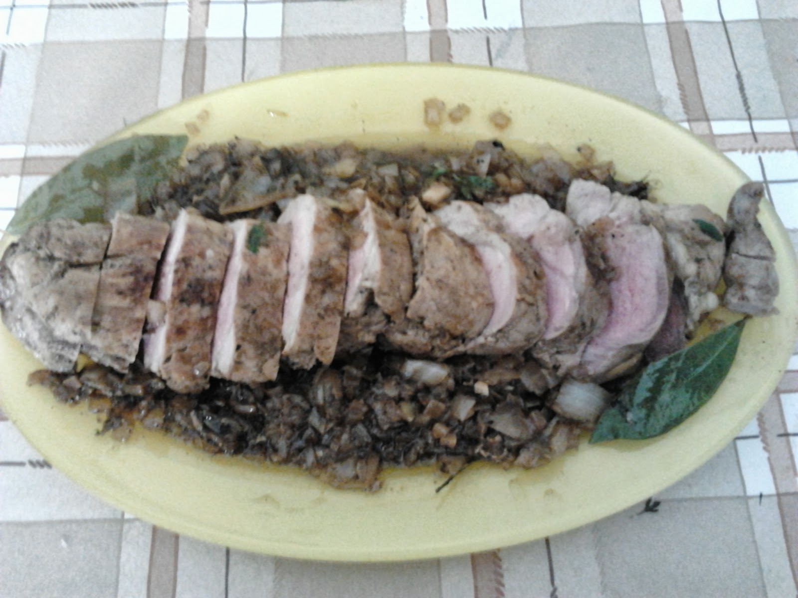 Conchi En Su Cocina Solomilllo De Cerdo Guisado