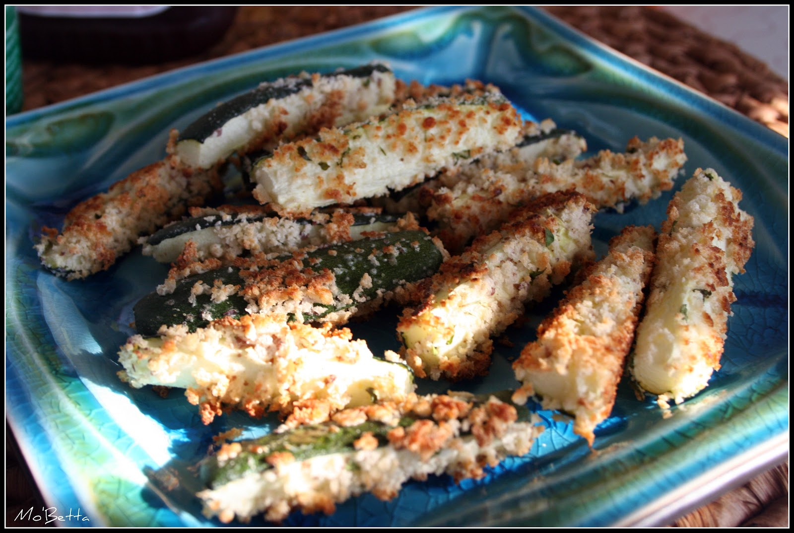 Makin' it Mo' Betta: Oven baked zucchini fries