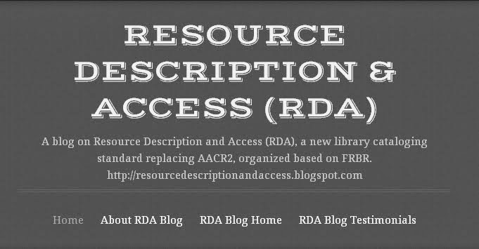 RDA Blog on WordPress
