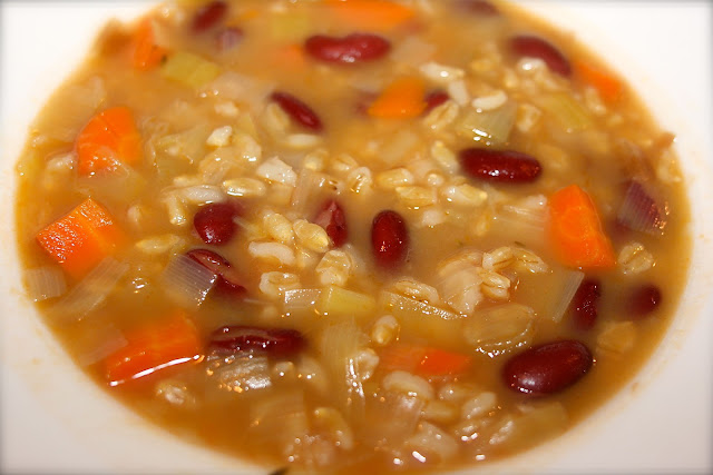 crockpot vegetable barley soup