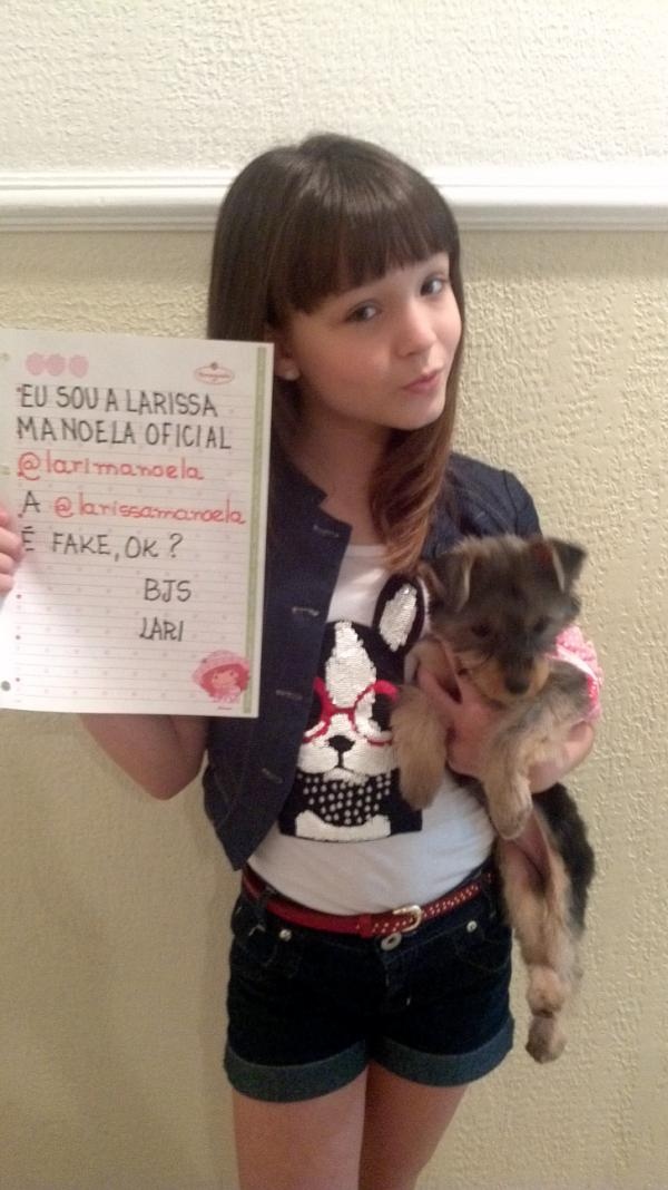 ff1283cc28e8a Fã Clube Oficial Larissa Manoela♥