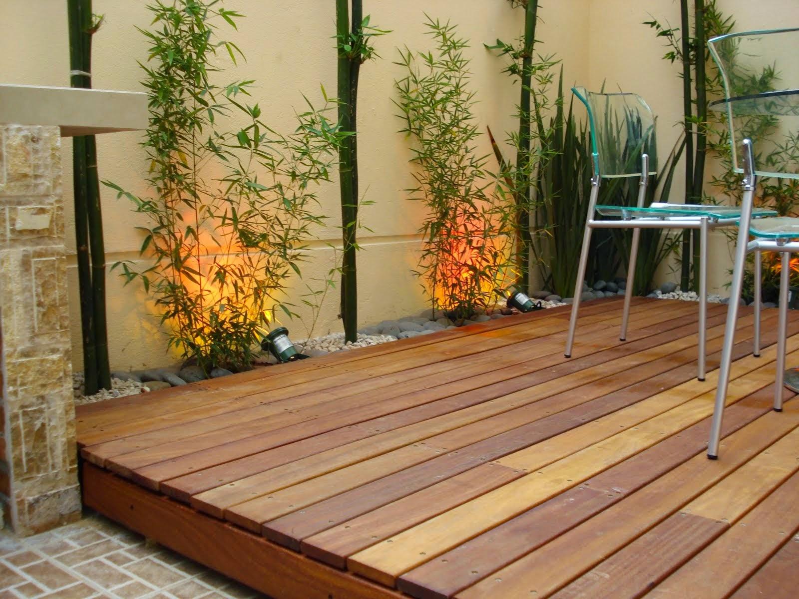 Consejos para decorar jardines en terrazas y balcones for Jardines con madera