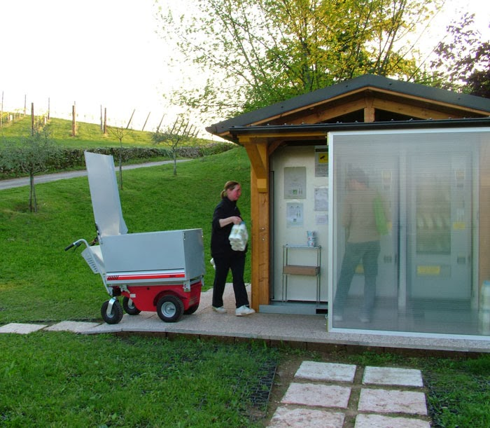 elektro transportwagen zallys made in italy. Black Bedroom Furniture Sets. Home Design Ideas