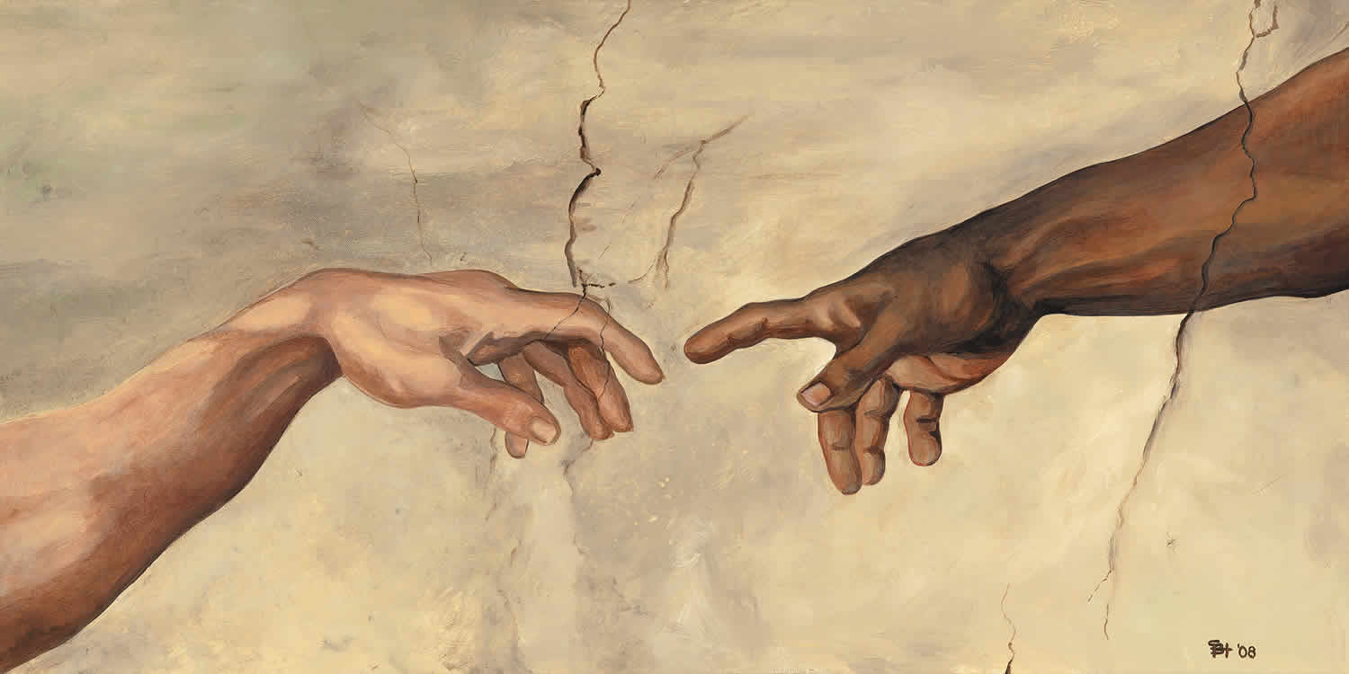 creation of adam v the crucifiction essay
