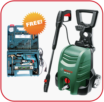 Diwali Offer - Buy Bosch AQT 35-12 and Get Bosch GSB 10 RE Tool Kit Free Online, India - Pumpkart.com