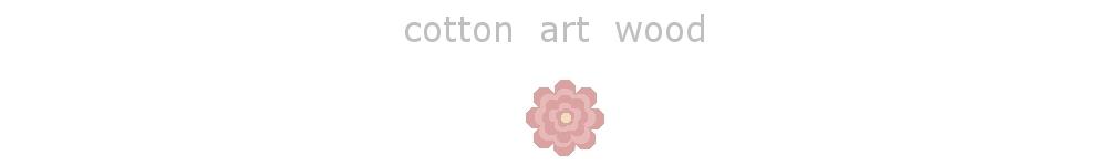 PRACOWNIA ARTYSTYCZNA COTTON ART WOOD