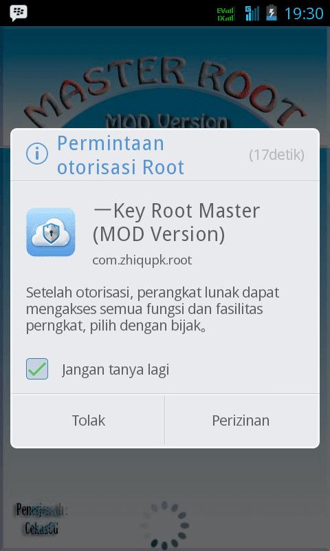 Key Root Master