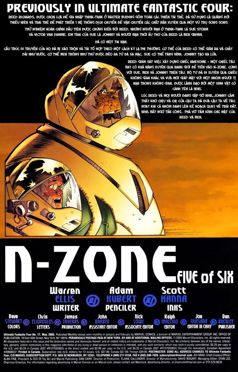 Ultimate Fantastic Four chap 17 - Trang 3