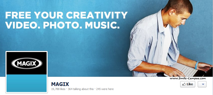 Facebook Fan Page of Magix.com