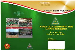 Undangan Ansor Bandung Barat Bersholawat