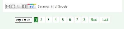 navigasi halaman dengan angka/nomor