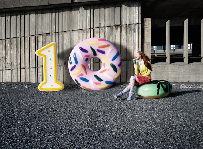 Dealer de luxe magazine - numéro spécial 10 ans - Celebrate - photos: Marc Thirouin