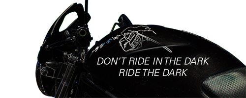 Goemon - Don't ride in the dark, ride THE DARK