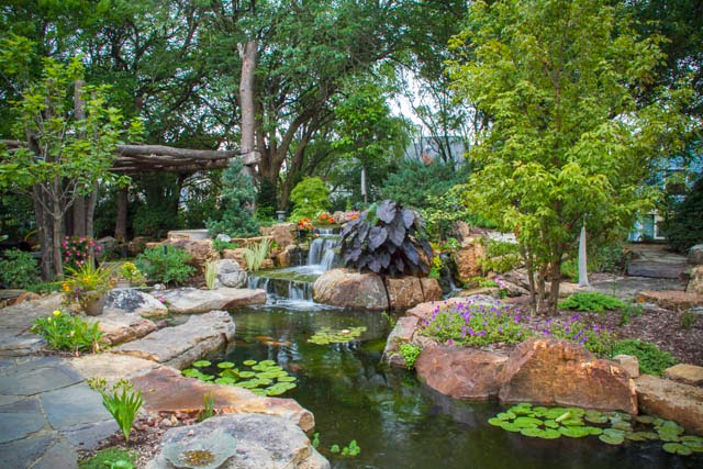 Aquascape Your Landscape Amazing Suburban Backyard