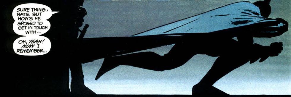 deconstructing dark knight returns bat signal. Black Bedroom Furniture Sets. Home Design Ideas