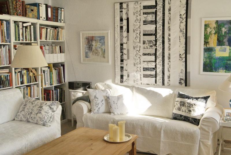 meine quilts und ich neue wohnzimmer deko. Black Bedroom Furniture Sets. Home Design Ideas