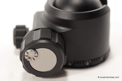 Sunwayfoto XB-44 main friction/lock knob detail