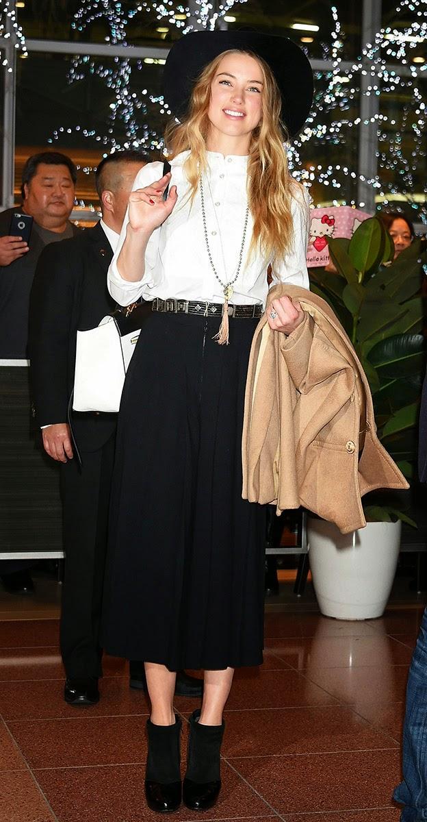 Amber Heard  Best Dressed: Week of February 2, 2015