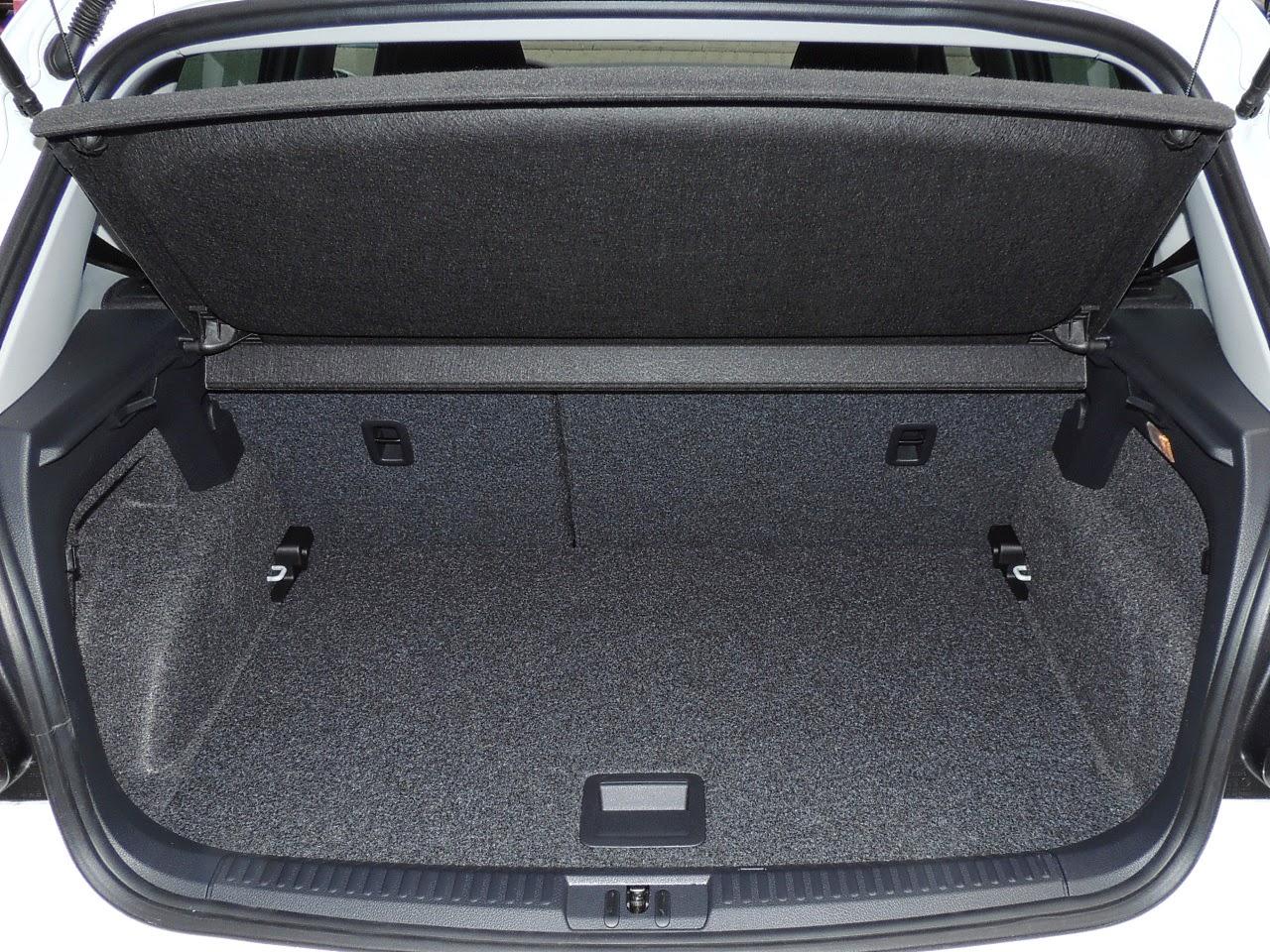 Volkswagen Polo - komora bagażnika