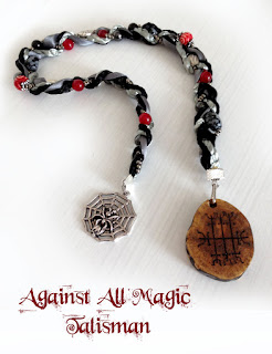 Against All magic icelandic magical stave from Moonscrafts )0(