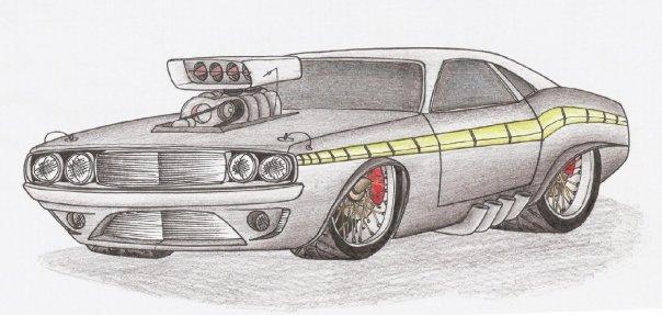 Autos deportivos para dibujar faciles - Imagui