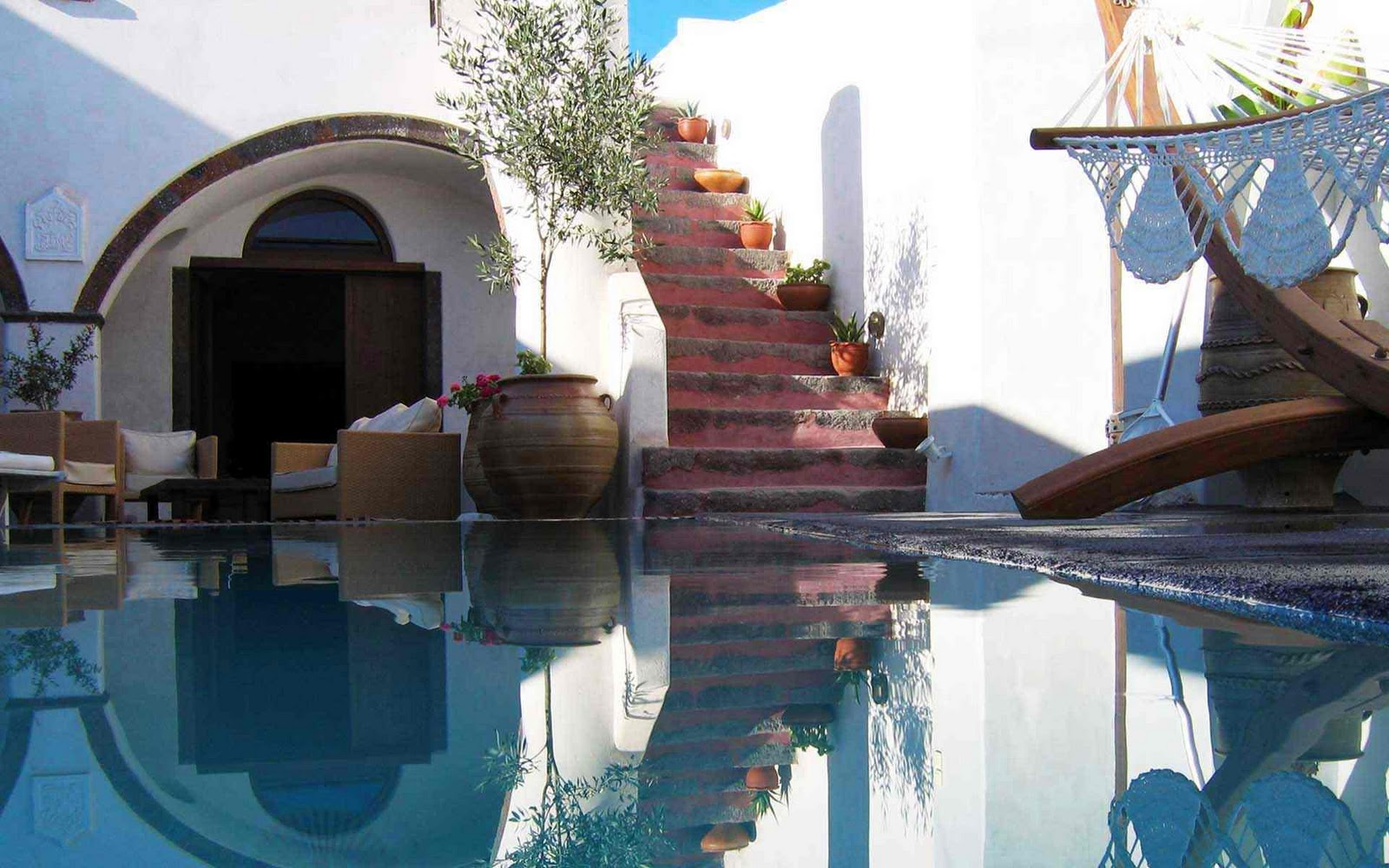 Villas and mansions in santorini weddings in greece for Amenagement decoration