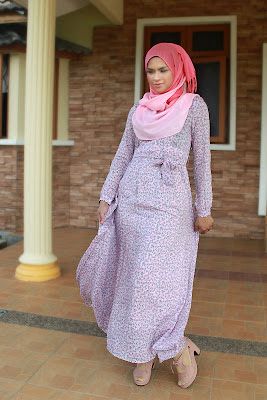 Dress Online Shopping Malaysia on Dress With Sash   Azra   Edz Eightdesigns Malaysia S Online Shopping