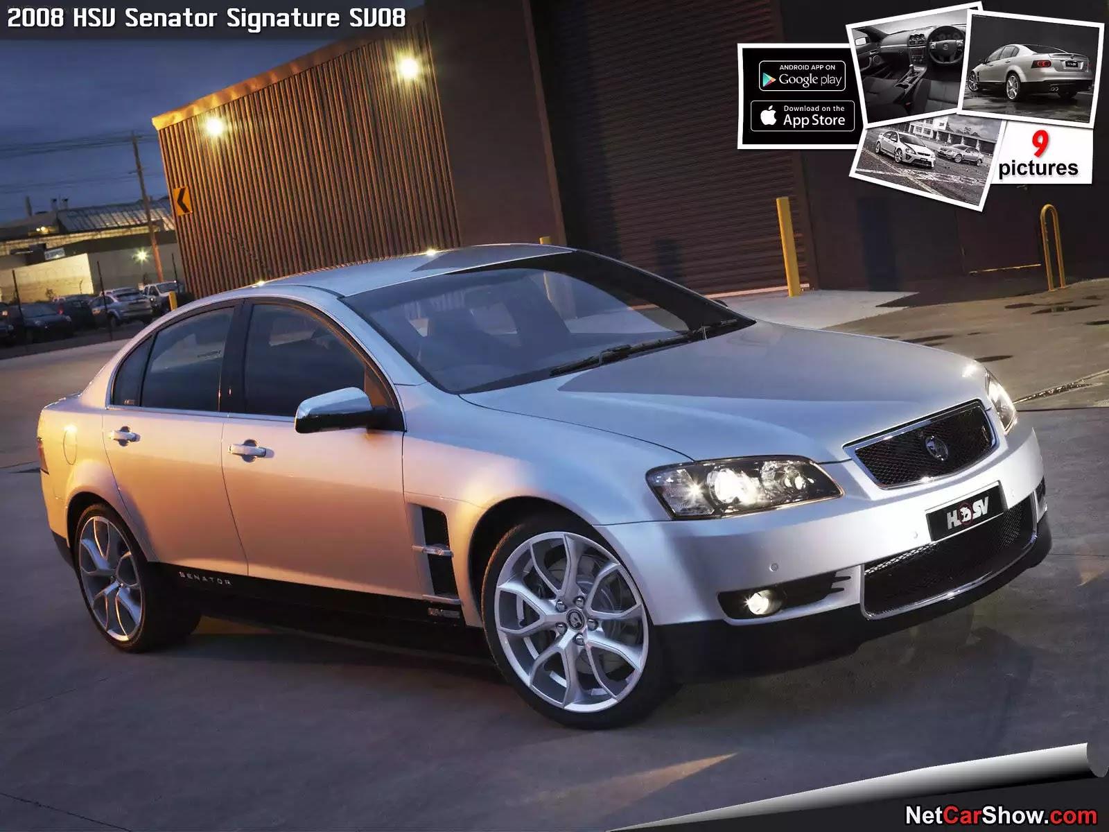 Hình ảnh xe ô tô HSV Senator Signature SV08 2008 & nội ngoại thất
