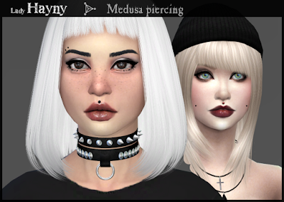 My Sims 4 Blog Medusa Piercing By Ladyhayny