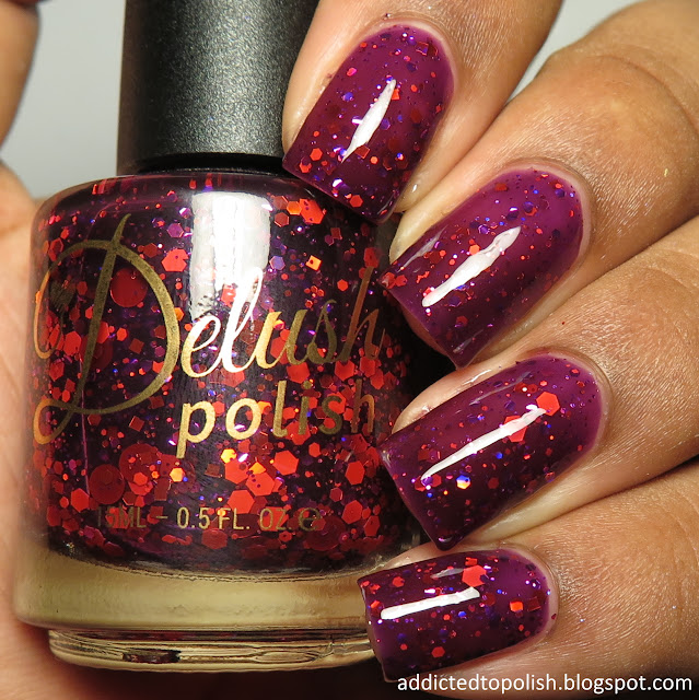 delush polish queen of mercy