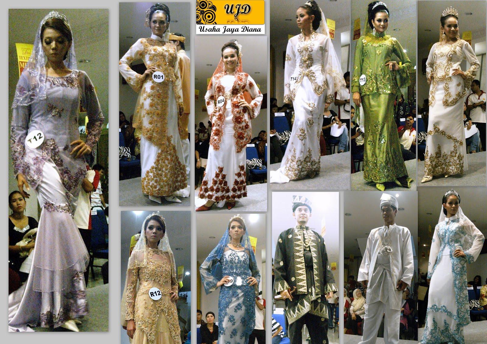 Pertunjukan Fesyen Pakaian Pengantin **