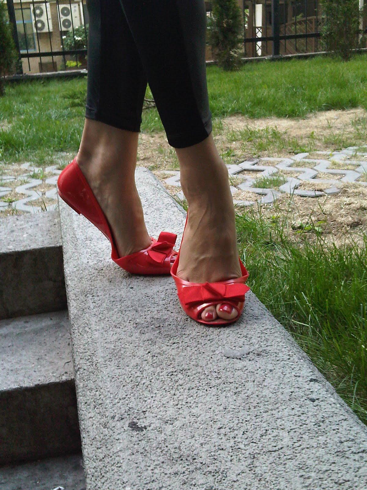 lovellyprism gumowe baleriny