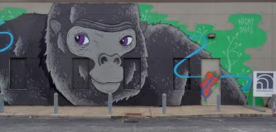 Gorilla Mural by Nicky Davis