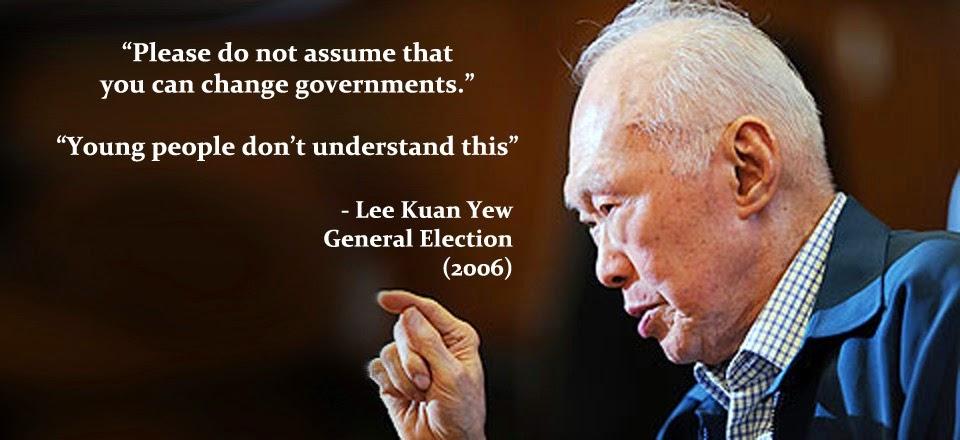 Lee Kuan Yew Singapur